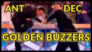 Video Top 10 ANT and DEC 's GOLDEN BUZZERS and BEST MOMENTS EVER! MP3, 3GP, MP4, WEBM, AVI, FLV Desember 2018