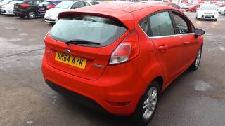 Ford New Fiesta 2014.50 Zetec 1.25 82PS 5 Speed Man 5DR U23259