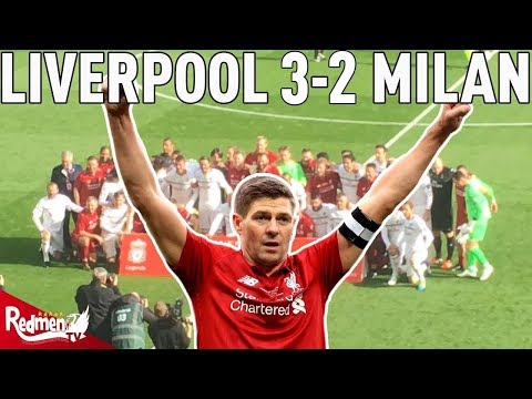 Gerrard Last Minute Winner! | Liverpool Legends 3-2 Milan Glorie | Story Of The Match