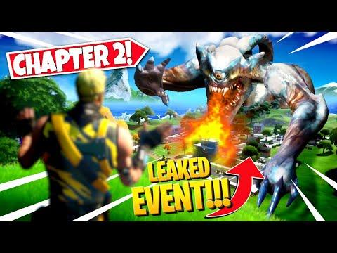 *NEW* CHAPTER 2 ENDING EVENT *LEAKED* IN FORTNITE SEASON FINALE! ALL DETAILS & LEAKS!