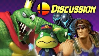 Discussion - Smash Bros. August Direct w/ RogersBase