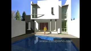 Diseños de casa moderna 3D, incluye planos de casas, Design house, virtual tour and Home & design