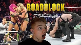 Nonton Wwe Roadblock End Of The Line 2016 Live Reactions   Marcsarpei Film Subtitle Indonesia Streaming Movie Download