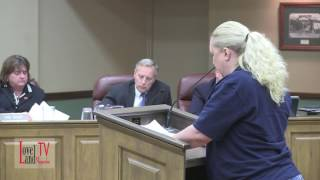 Elizabeth Blust addresses ethical concerns and doesn't give her consent to bulldoze City Hall