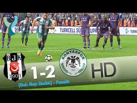 Beşiktaş: 1 - Konyaspor: 2 | Gol: Nejc Skubic (Penaltı)