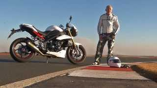 4. Triumph Speed Triple R Test