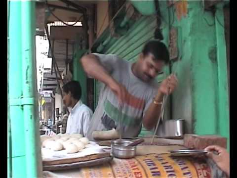Making Chapati very fast - India