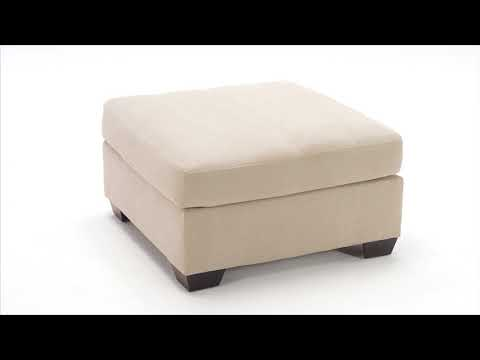 Pitkin 3490408 Oversized Accent Ottoman