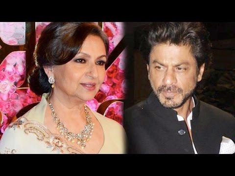 Sharmila Tagore Can't Stop Praising Shah Rukh Khan