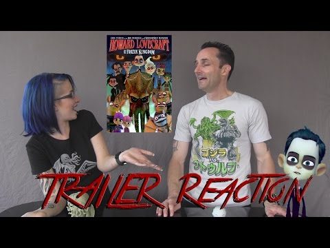 Howard Lovecraft and the Frozen Kingdom Trailer Reaction