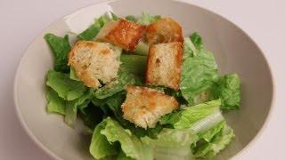 Homemade Caesar Salad Recipe - Laura Vitale - Laura in the Kitchen Episode 336