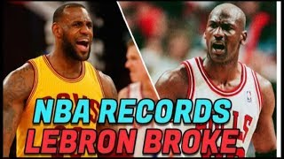 Video Top Ten Unbreakable NBA Records That Lebron James Holds MP3, 3GP, MP4, WEBM, AVI, FLV Desember 2018