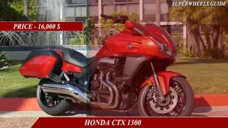 9. KAWASAKI CONCOURS 14 ABS VS HONDA CTX 1300