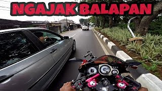 Video SUNMORI KETEMU PEMBALAP EDAN / DRAG NINJA RR VS BMW E46 MP3, 3GP, MP4, WEBM, AVI, FLV Juni 2018
