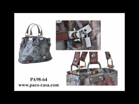 BECOME A DEALER TODAY SAMPLE OF PACO CASA EXCLUSIVE HANDBAGS