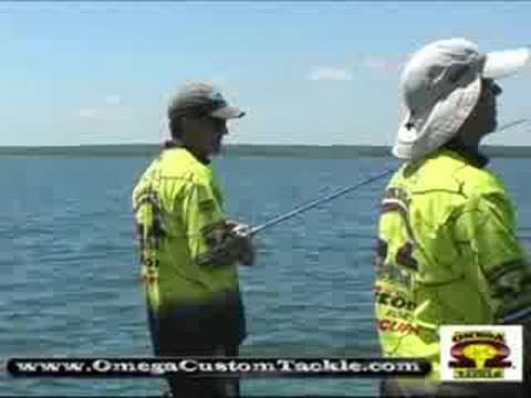 Bass Master Elite Pro fishing on Kentucky Lake