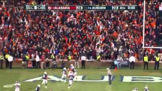 Auburn (AL) United States  city photo : Alabama Missed Field Goal, Returned for Auburn Game Winning Touchdown