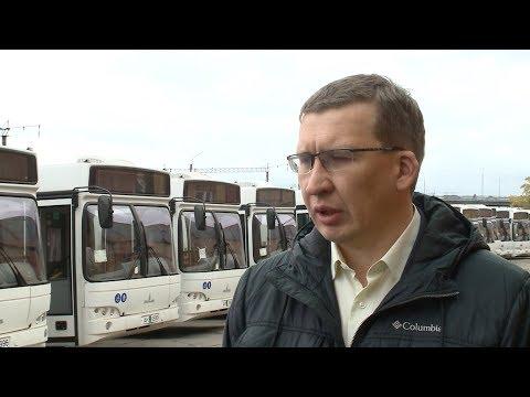 Двадцать новых автобусов поступили в г. Череповец Вологодской области