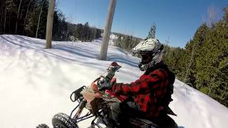 10. GoPro HERO 3+ : Outlaw 450mxr 400ex in the trails
