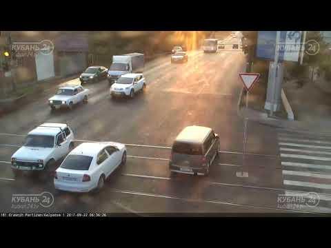 ДТП в Краснодаре на ул.Каляева