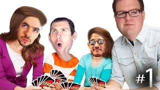 FUCKING SAVAGE! | UNO w/Mark, Wade and Jack Ep. 1
