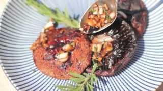 Grillowane pieczarki portobello
