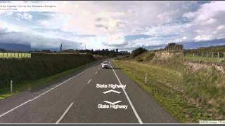 Waipukurau New Zealand  City pictures : Virtual Road Trip Timelapse: Palmerston North to Waipukurau, Nz