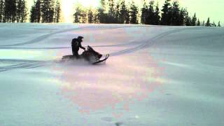 7. Skidoo renegade 550 powder