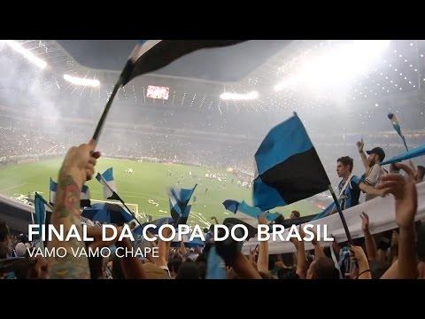 Final da Copa do Brasil - Grêmio 1x1 Galo | Vamo Vamo Chape - Geral do Grêmio - Grêmio