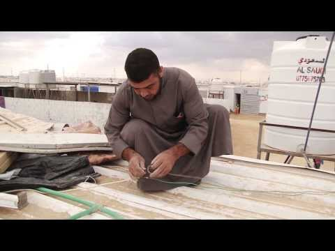 Jordan: Winter Preparations in  Za'atri Refugee Camp