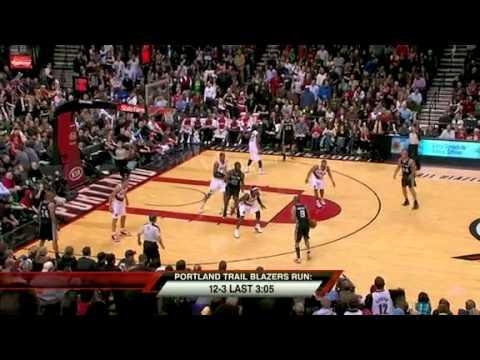 San Antonio Spurs 96 – Portland Trail Blazers 98