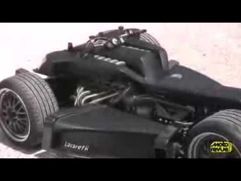 BMW V12 Engine Monster Quad Bike