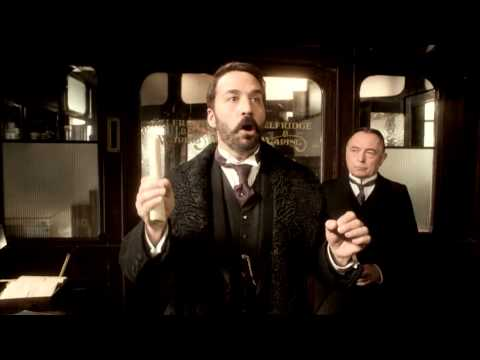 ITV's Mr Selfridge Trailer (With Jeremy Piven)
