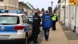 Liebenwalde Germany  city photos gallery : Leichenfund in Liebenwalde (Oberhavel) Spurensicherung am Tatort