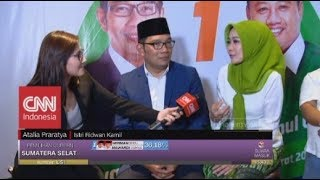 Video Tanggapan Ridwan Kamil & Istri Unggul di Quick Count MP3, 3GP, MP4, WEBM, AVI, FLV September 2018