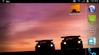 Racing Cars -LIVE- Wallpaper YouTube video