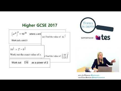 Maths whizzes Craig Barton & Jo Morgan teach Indices! | GCSE revision help