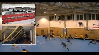 В Чехии обрушилась крыша спортивного зала во время игры во флорбол
