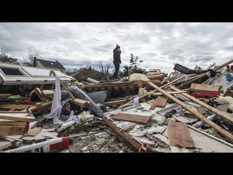 Amerikanische Ostküste: Tornados zerstören Häuser und Landschaften