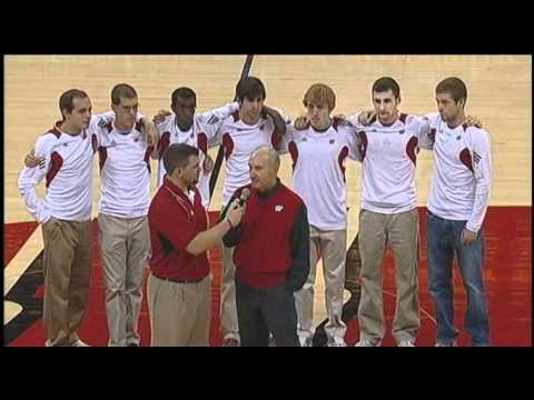 Wisconsin Men's Cross Country National Champions Honored