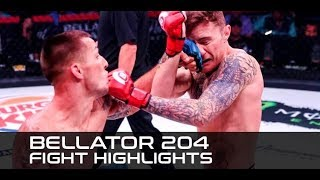Bellator 204 Fight Highlights - MMAWeekly by MMA Weekly