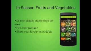 Seasonal Food Fruits and Vegs YouTube video