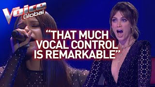 Video 16-year-old's insanely high notes shock The Voice coaches | Journey #26 MP3, 3GP, MP4, WEBM, AVI, FLV Agustus 2019