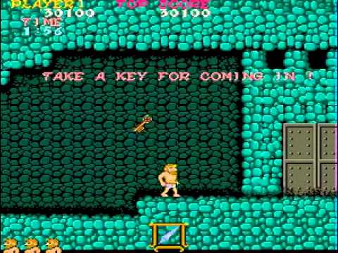 ghosts n goblins arcade walkthrough