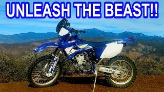 8. Get most power out of your offroad dirt bike - Yamaha WR450 de-restriction, free mods