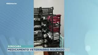 Homem é preso após furtar medicamentos veterinários em Sorocaba