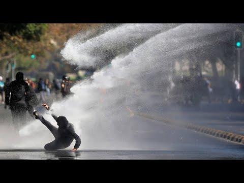 Chile: Heftige Szenen bei Studentenprotesten