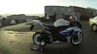 7. 2013 GSXR1000 Million Edition with Taylormade exhaust GoPro Hero 3+