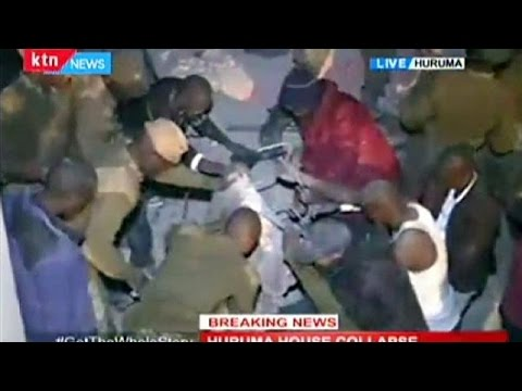 Κένυα: Κατάρρευση εξαώροφης πολυκατοικίας στο Ναϊρόμπι – Δεκάδες εγκλωβισμένοι