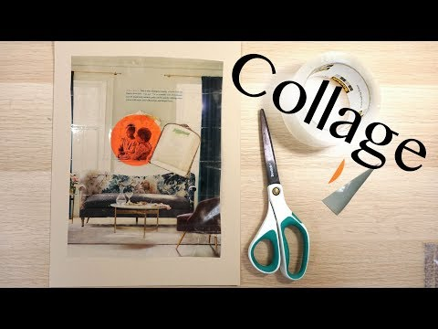 How to Make a Collage - Materials, Composition, and Tips